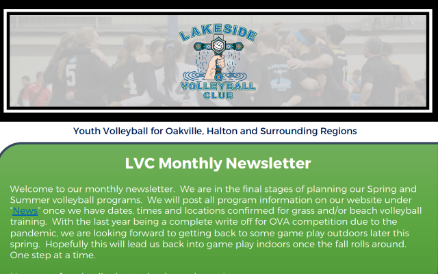 What's in the News?:  LVC March Newsletter